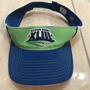 Super Bowl 37 Reebok Visor Cap Hat Tampa XLIII